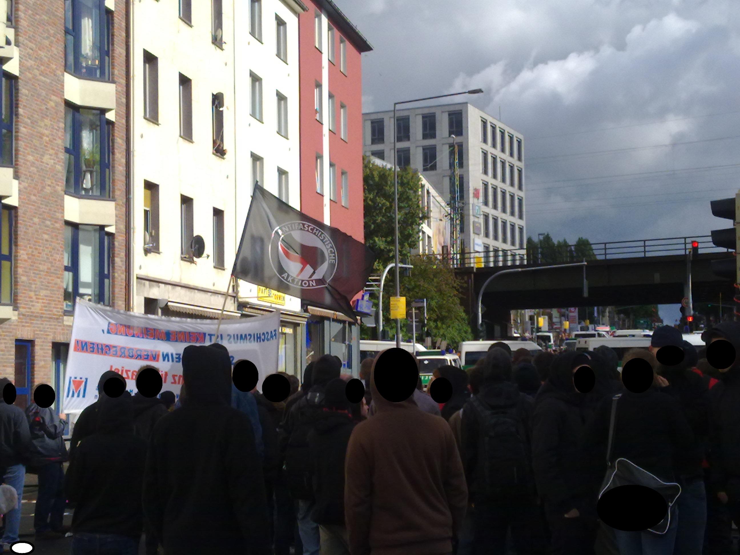 Antifa Euskirchen/Eifel gegen die Neonazi-Demo am 25.09.2010 in Aachen