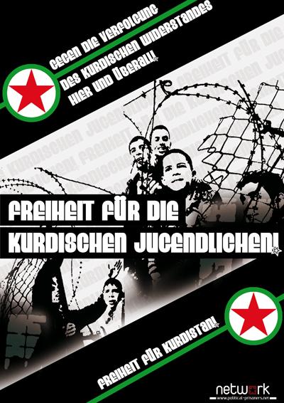 Freiheit für die kurdischen Jugendlichen