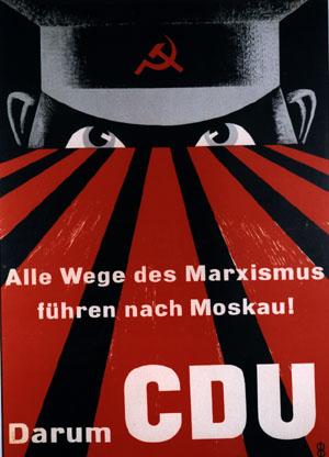 CDU - Wahlkampfplakat von 1953