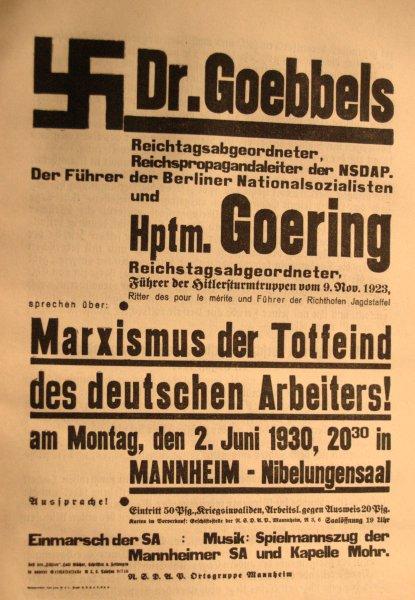NSDAP Werbung vom 1930