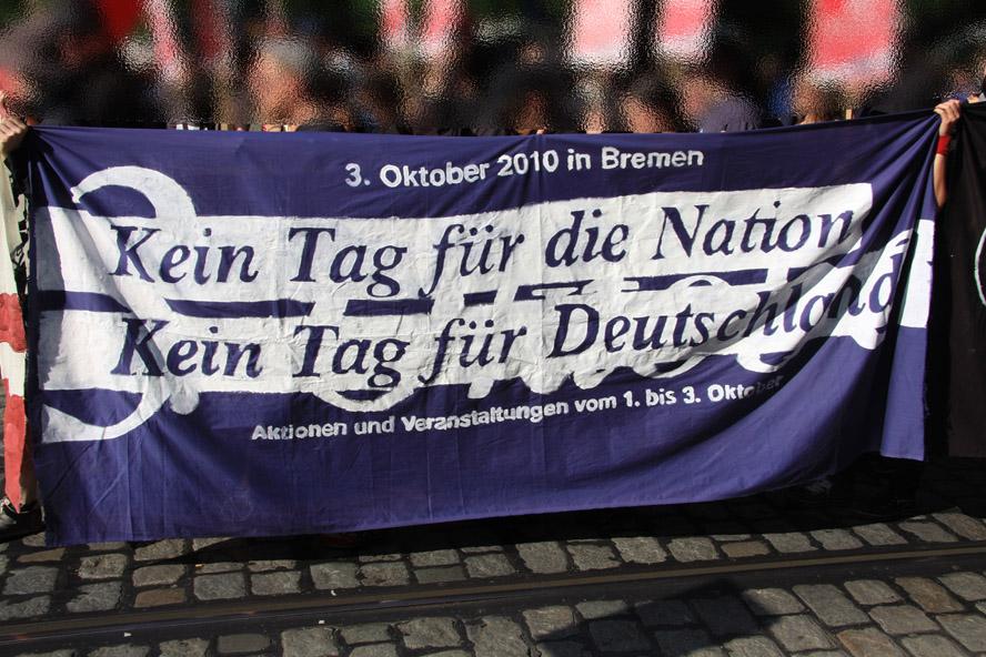 Kein Tag für die Nation - Kein Tag für Deutschland